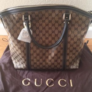 🌹Gucci GG Crystal Coated Convertible Dome Bag